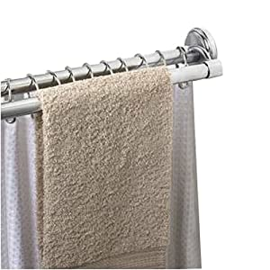 Speakman Zenith S 36601 Ss Dual Style Screw Mounted Shower Rod In Polished Chrome