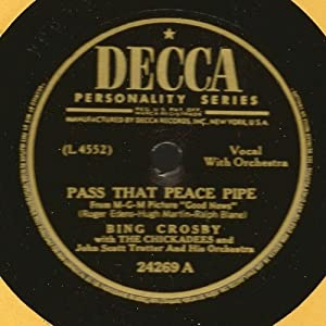 "Pass That Peace Pipe / Suspense (1944 10"" 78rpm)"