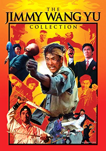 The Jimmy Wang Yu Collection (The Tattooed Dragon, One Armed Boxer, Beach Of The War Gods & Man Called Tiger)
