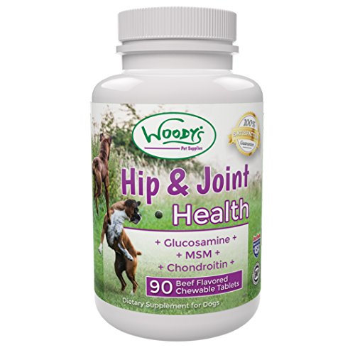 Chewable Hip and Joint Support for Dogs Large and Small Breed Pain Relief for Canines Arthritis Support - Increase Mobility, Flexibility, and Strength - A Tasty Natural Treat 90 Beef & Liver Tablets (Young Again Dog Food compare prices)