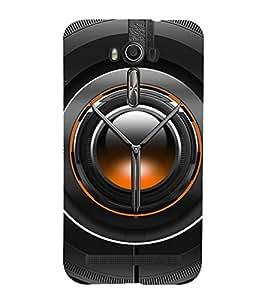 Printvisa Black Lens Depicting The Power Of Photography 3D Hard Polycarbonate Designer Back Case Cover For Asus Zenfone 2 Laser Ze550Kl :: Asus Zenfone 2 Laser Ze550Kl (5.5 Inches)