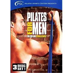 Pilates for Men: 10-20-30 Challenge 3-Disc Set