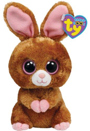 Imagen de Ty Beanie Boos Hopson Brown Bunny 6