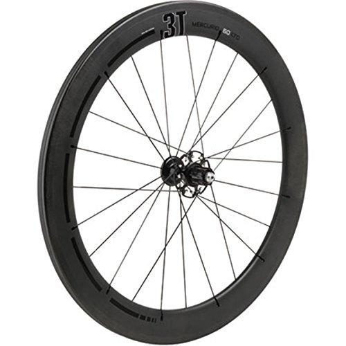 3T Mercurio 60 LTD Stealth Road Bicycle Wheel - Rear