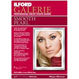 Ilford Galerie Smooth Pearl Resin Coated Inkjet Paper, 290g/m2, 5