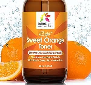 Amazon.com : xSight Sweet Orange Skin Toner by InterSight for Face ...