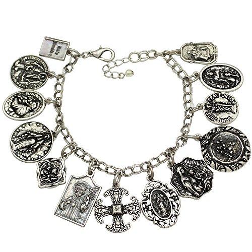 qq-fashionr-vintage-silver-plated-catholic-religious-church-medals-charm-saints-pray-for-us-cross-ch