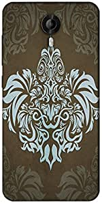 Snoogg Motif Patterns Designer Protective Back Case Cover For Micromax Canvas Nitro 3 E455