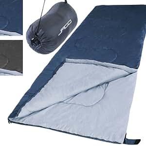 Mumien Schlafsack Campingschlafsack inkl. Transporttasche, koppelbach (Farbwahl)