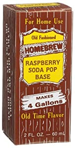 Homebrew Raspberry Soda Pop Concentrated Extract, 2-Ounce Boxes (Pack of 3)