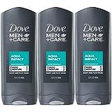 Dove Men+Care Body and Face Wash, Aqua Impact