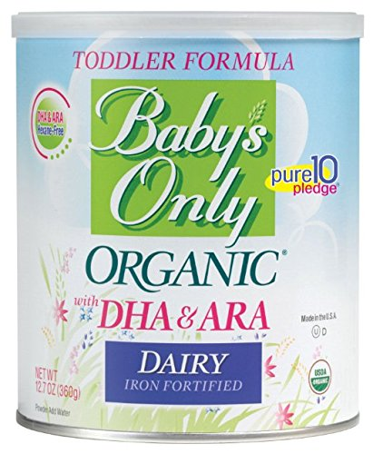 Baby's Only Toddler Formula, Dairy with DHA & ARA, 12.7 Ounce (Pack of 6) (Baby Food Equipment compare prices)