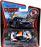 Disney Pixar CARS 2 Exclusive 1:55 Die Cast Car SILVER RACER Max Schnell With Metallic Finish - Véhicule Miniature - Voiture