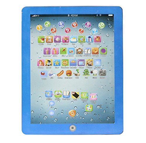 SMTSMT-Child-Touch-Type-Computer-Tablet-English-Learning-Study-Machine-Toy-Blue