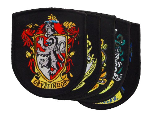 Cinereplicas Official Harry Potter Crest Patch Set (Harry Potter Iron On compare prices)
