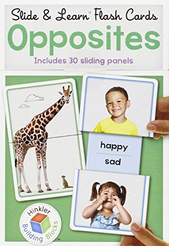 Slide and Learn Flashcards - Opposites