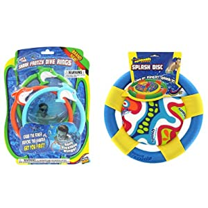 PTT Blue Splash Disc & Shark Frenzy Dive Rings Set at Sears.com
