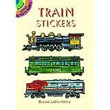 Train Stickers (Dover Little Activity Books Stickers) (Color: Multicolor)