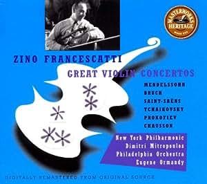 Great Violin Concertos