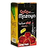 Coco Mazaya Hookah Shisha Natural Charcoals 96 Pieces