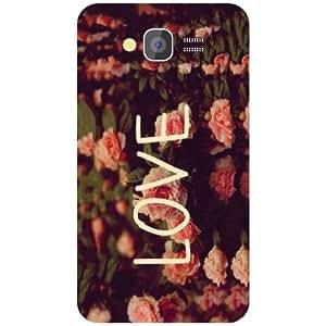 Samsung Galaxy Grand 2 Back Cover - Love Designer Cases