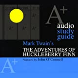 img - for A+ Audio Study Guide: The Adventures of Huckleberry Finn book / textbook / text book