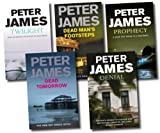 Peter James Peter James Collection 5 Books Set Pack RRP: £ 34.95 (Dead Tomorrow, Dead Man's Footsteps, Prophecy, Denial, Twilight) (Peter James Collection)