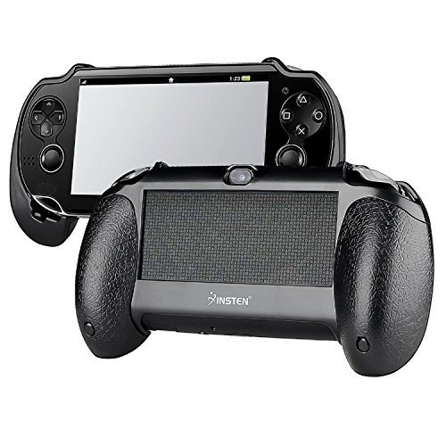 Insten New Trigger Grips Black Compatible With PSVita Playstation Vita (Ps3 Slim Console Used Cheap compare prices)