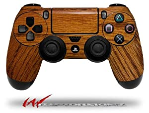 Wood Grain - Oak 01 - Decal Style Wrap Skin fits Sony PS4 Dualshock 4 Controller - CONTROLLER NOT INCLUDED