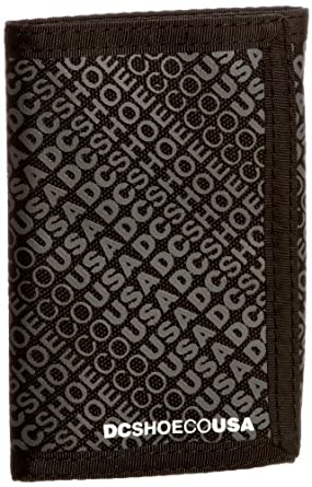 DC Shoes Ripstop 5 Tri-Fold Men's Wallet Black One Size