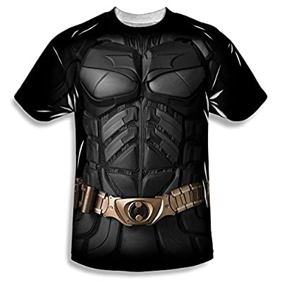 The Dark Knight Batman Costume All Over Front T-Shirt