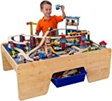 KidKraft Rising City Train Table And Set