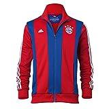 adidas FC Bayern Munich Anthem Track Top 2014 (Red)/サッカー トレーニングウェア バイエルン・ミュンヘン ジャケット 2014(赤) (XL)