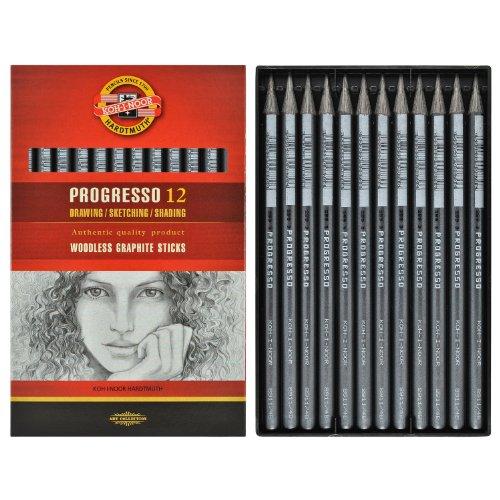 koh-i-noor-progresso-12-woodless-graphite-pencils-8b-8911