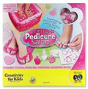 Pedicure For Kids : Kids Pretty Pedicure Salon Kit - Creativity For Kids Pretty Pedicure ...