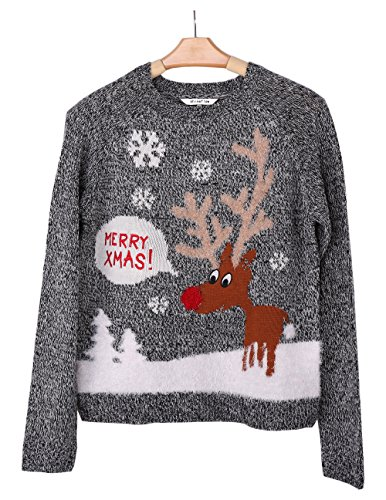Reindeer Ugly Christmas Sweater