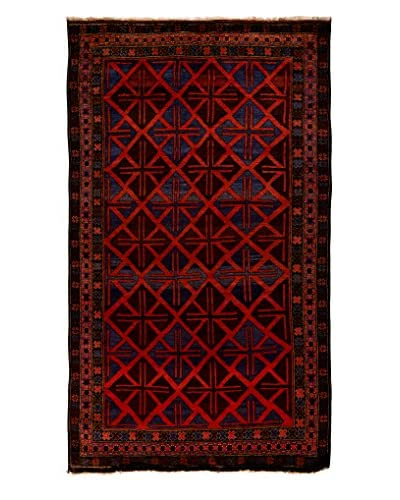 Tribal Collection Oriental Rug, Rust, 5' 7 x 9' 10