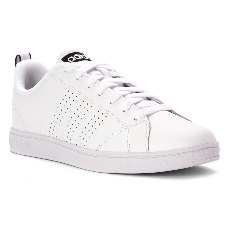 adidas neo women 39 s advantage clean vs w casual sneaker white white black 7 m us 139 buy. Black Bedroom Furniture Sets. Home Design Ideas