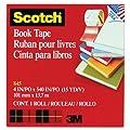 Scotch® Book Tape 845, 4 Inches x 15 Yards