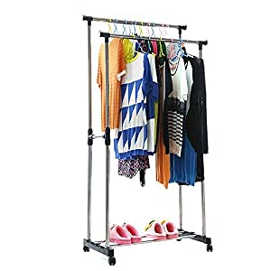 Amazon.com - Aojia Adjustable Garment Rack -