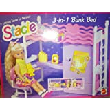 Stacie Little Sister of Barbie 3 -In- 1 Bunk Bed (1993, Mattel)