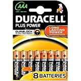 Duracell Plus AAA Battery (Pack of 8)