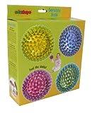 Edushape 4 Senso-Dot Set of 4 Balls, Colors May Vary Infant, Baby, Child
