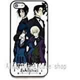Black Butler Kuroshitsuji (6) HD image phone cases cover for iPhone 5c