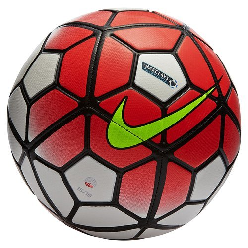 Nike Pallone Da Calcio Strike Premier League (White-Crimson)