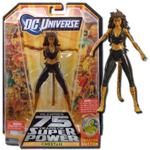 DC Universe Wave 13 Classics Series Action Figure #5- CHEETAH (Black Suit Variant) (Dc Universe Action Figures compare prices)
