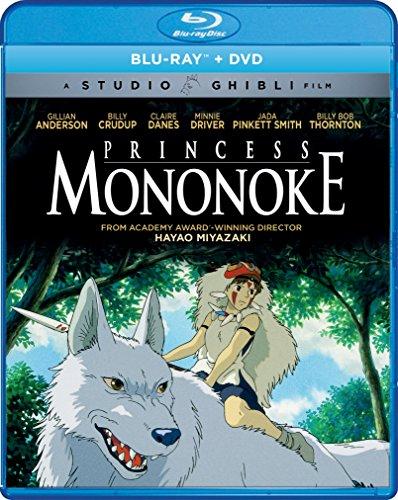 Blu-ray : Princess Mononoke (With DVD, Widescreen, 2 Pack, 2 Disc)