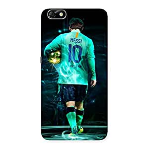Ajay Enterprises Real Player of football Back Case Cover for Honor 4X