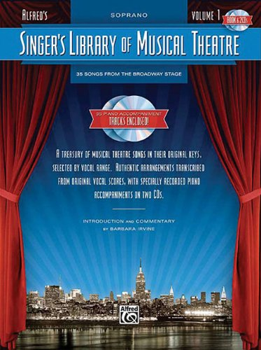 Singer's Library Of Musical Theatre Volume 1 Soprano Book...