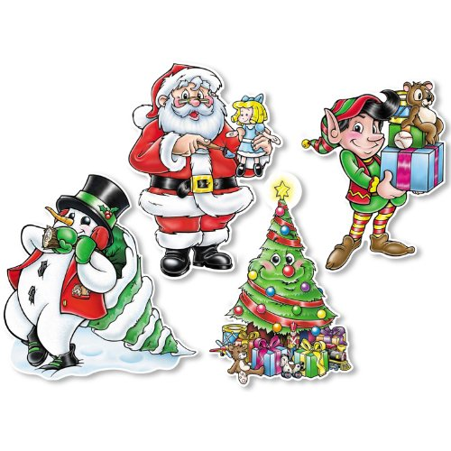 Christmas Cutouts Party Accessory (1 count) (1/Pkg)